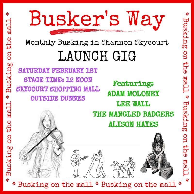 Buskers Way Skycourt Shannon